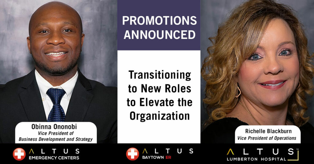 Staff Promotions Announced