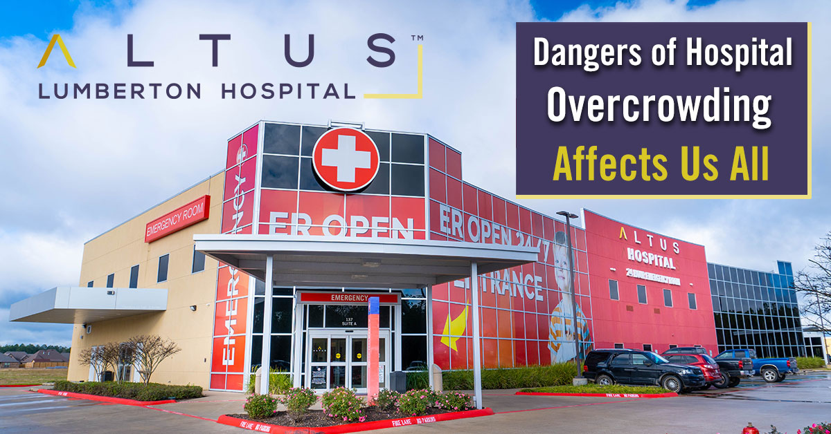 Dangers of Hospital Overcrowding Affects Us All